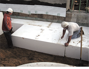 Find out about geofoam america 39 s source for geofoam for Foam blocks building construction