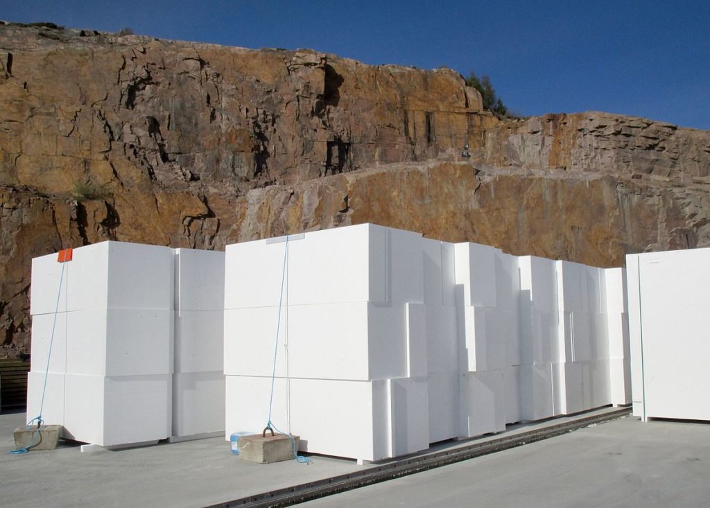 GeoFoam Construction Blocks